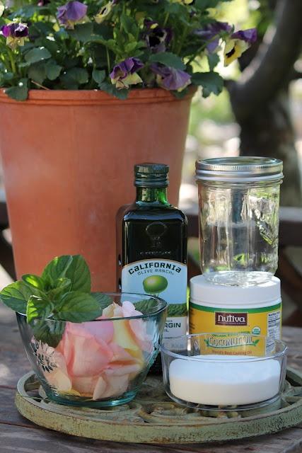 Camp Wander: Rose Petal & Mint Body ScrubMint Body, Gift Ideas, Body Scrubs Recipe, Homemade Rose, Diy Beautiful, Petals Mint, Camps Wanders, Rose Petals, Beautiful Products