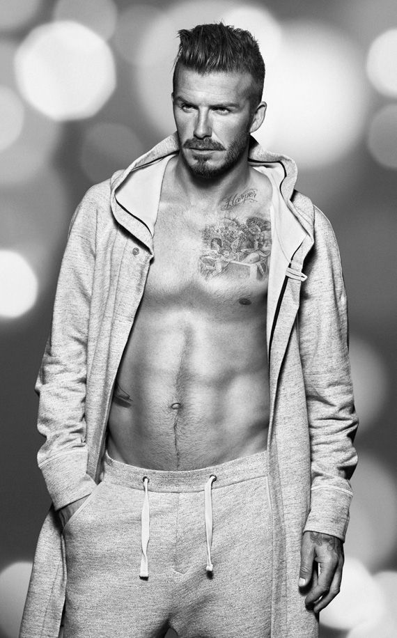 @VancityBuzz - Vancouver Canada News Fashion Fix – David Beckham for H Christmas #ShopontheLine