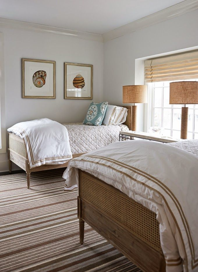 guest room   Lillian August. 387 best Cute Twin Bedrooms images on Pinterest   Twin beds