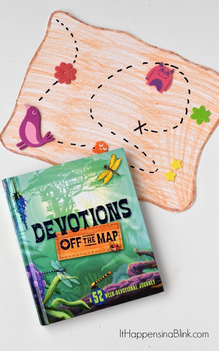 Off the map devos and a kid 39 s simple map craft ad use for Bible school craft supplies