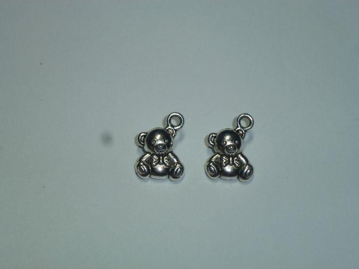 little Pendants - teddy bear by AzraelWest on Etsy