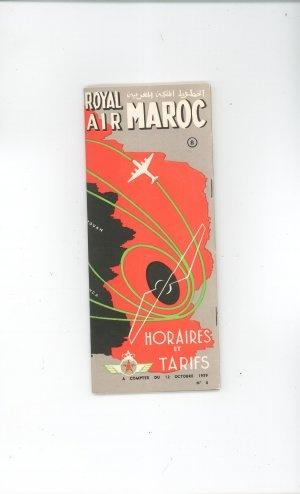 Royal Air Maroc - timetable