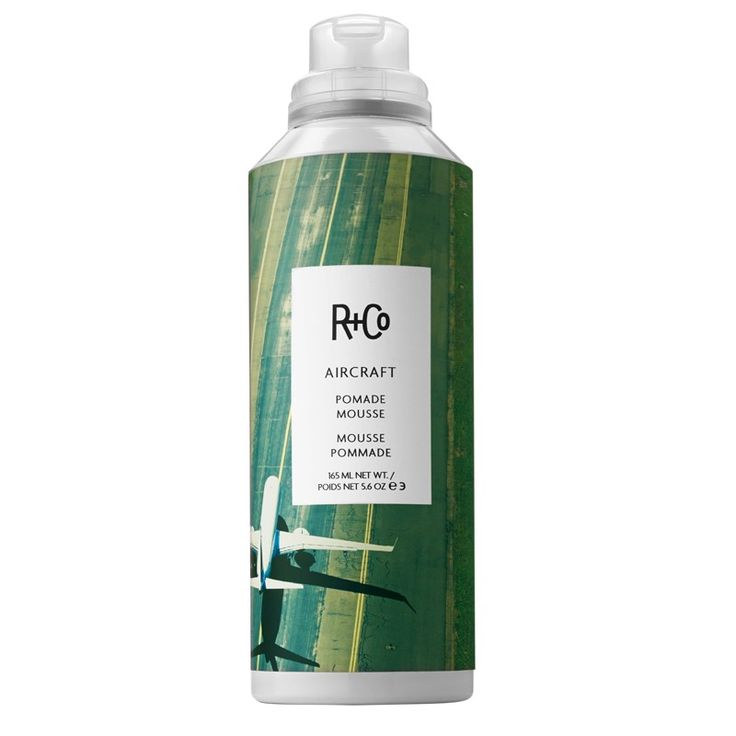 R+Co Aircraft Pomade Mousse ($29, randco.com) is truly essential for giving shape and style to wayward curls. It sprays into your hand like a lightweight mousse but shapes your ringlets and waves like a pomade—all without weighing your hair down. It's a miracle!
