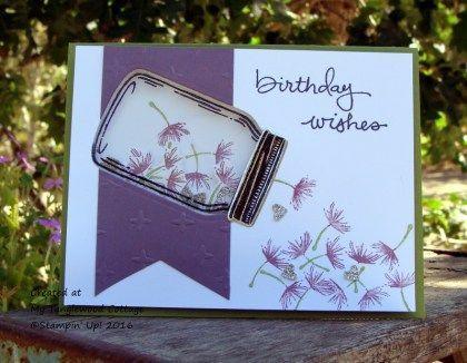 Jar of Love free tutorial, shaker card, MyTanglewoodCottage.net, Wacky…