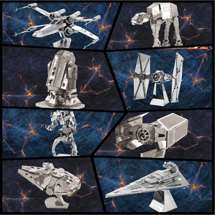 4.29$  Know more - http://aid7d.worlditems.win/redirect/32599989855 - Free Shipping Hot Sale puzzle toys maquetas star wars metal Building Kits 3D Scale Models DIY Metallic Nano Puzzle Toys   #aliexpresschina