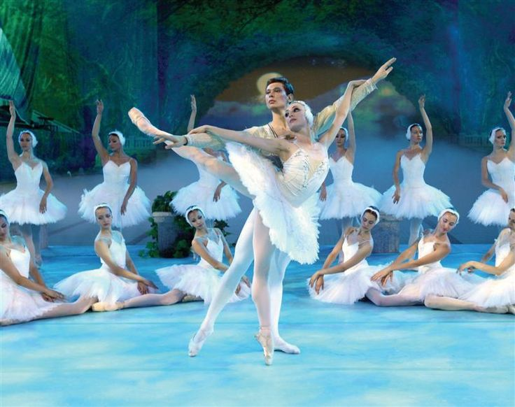 The Russian Ballet Company in Swan Lake