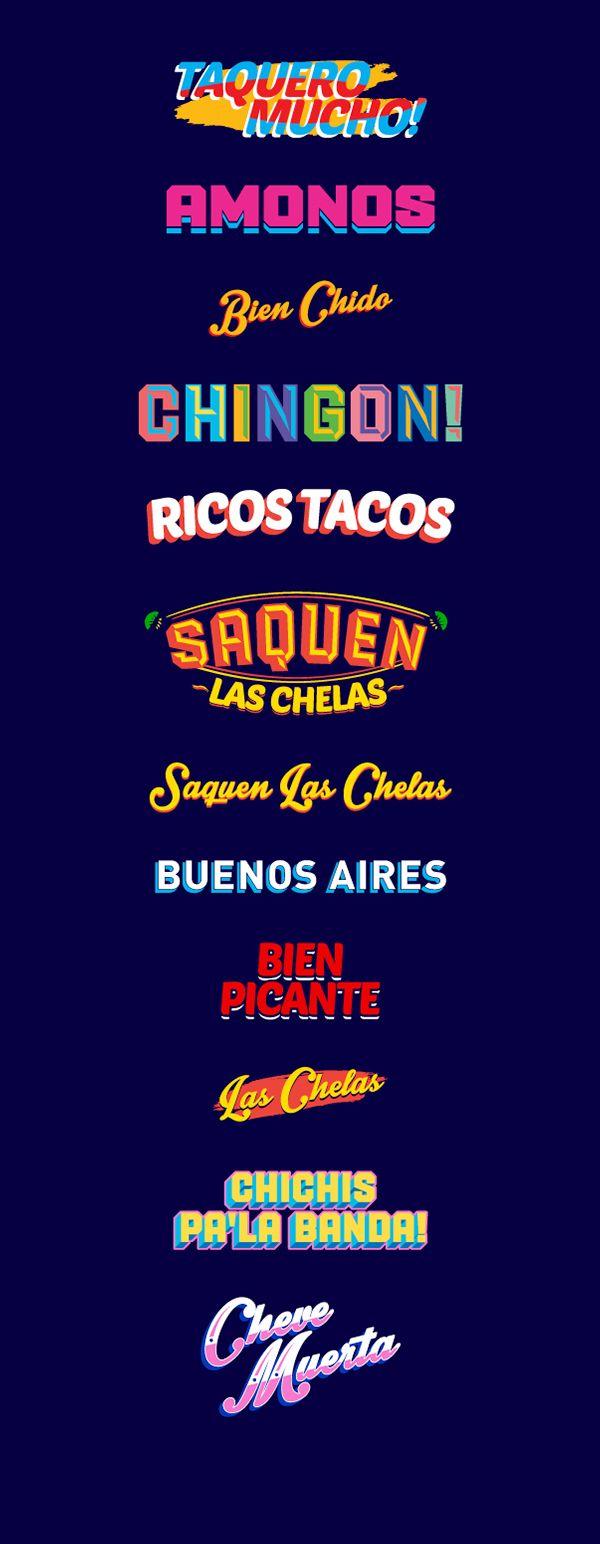 La Fábrica del Taco by Bosque ™, via Behance                                                                                                                                                                                 Más