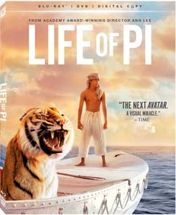 Life of Pi comes out on Blu-ray 3D, Blu-ray and DVD on March 8th internationally and on March 12th in North America. Win Life of Pi Blu-ray on Daddy Forever dad blog.