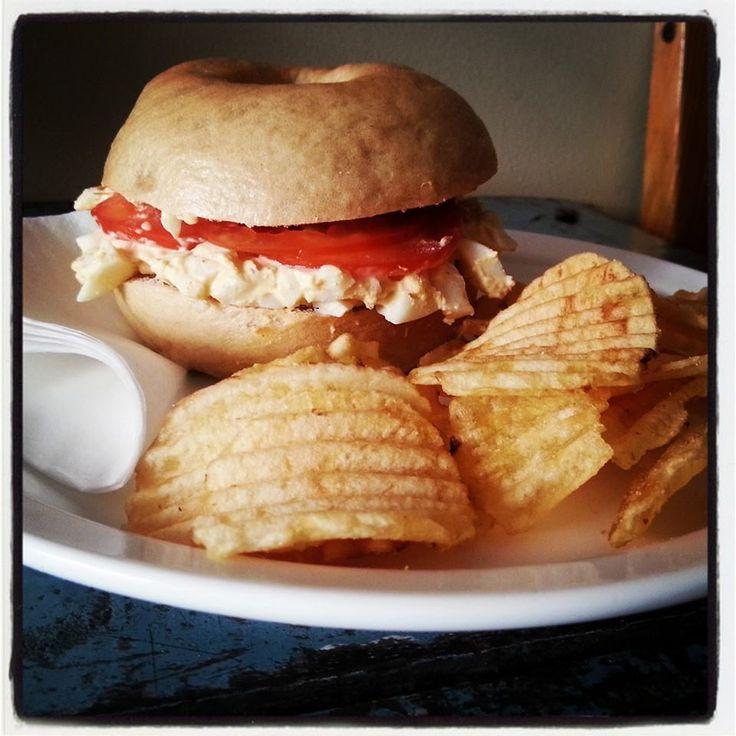 Brooklyn Cafe - Egg Salad Bagel