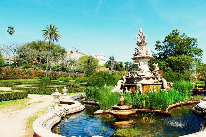 Jardim Botânico da Ajuda, Lisbon, Portugal
