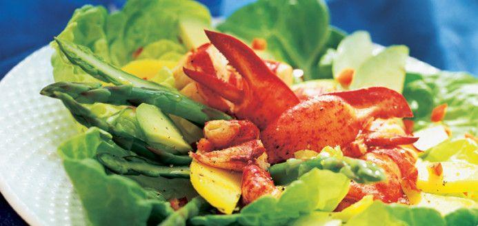 Salade de homard+ vinaigrette au Miel Approved!!