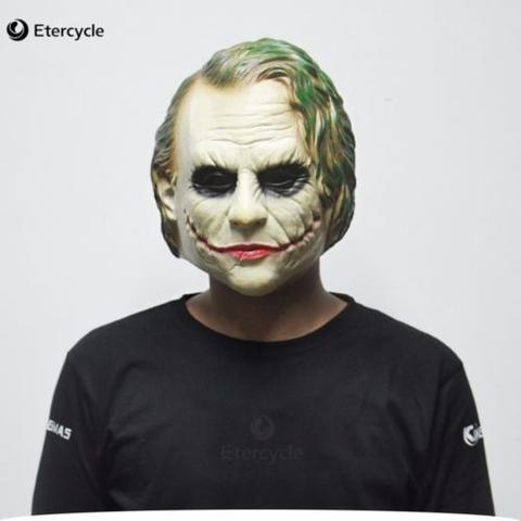 Mask Batman Joker Clown Costume Dark Knight Bank Robber Halloween Adult Party