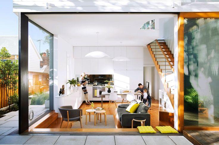 Gallery megan and glenns sydney sandstone cottage reno sydney kitchen dining and cottage renovation