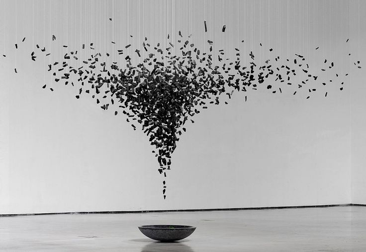 Stunning Charcoal Installations by Seon Ghi Bahk Read more at http://all-that-is-interesting.com/charcoal-installations-seon-ghi-bahk#7U6Z26bmH3eD10BT.99 Read more at http://all-that-is-interesting.com/charcoal-installations-seon-ghi-bahk#JRs51f5h8y19JMg2.99