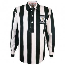 Grimsby Town 1940s-1950s Retro Football Shirt Grimsby Town 1940s-1950s Retro Football Shirt. Vintage Grimsby Town shirt as worn in the 1940s - 1950s. This traditional black and white stripe design stayed with Grimsby for over 10 years. http://www.MightGet.com/may-2017-1/grimsby-town-1940s-1950s-retro-football-shirt.asp