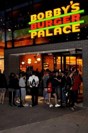 Bobby Flay's Burger Palace in University City, Philadelphia, PA. Love it!