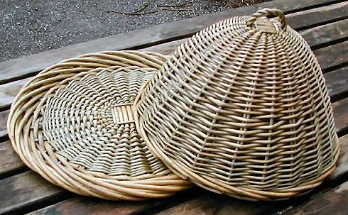 Home Basketware : Kitchen Basketware : Food Dome and Platter