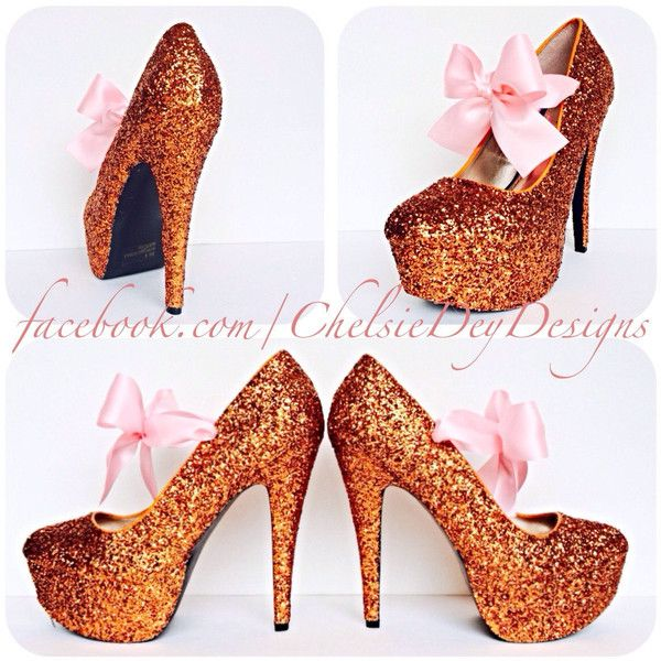 Orange Glitter High Heels Tangerine Pumps Sparkly Wedding Shoes Prom... ($70) ❤ liked on Polyvore featuring shoes, pumps, silver, women's shoes, orange platform pumps, platform shoes, high heel pumps, high heel shoes and silver evening shoes