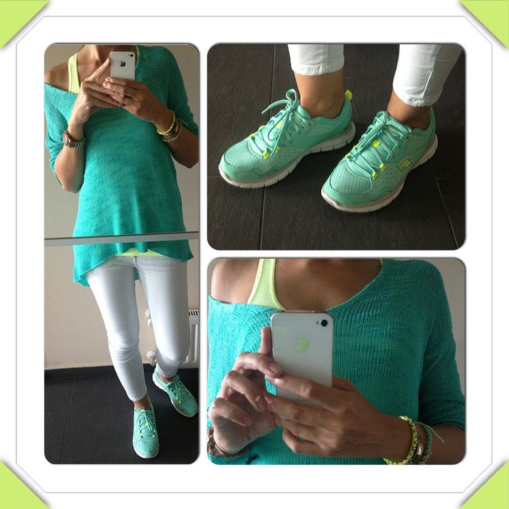 In the Mood for... Turquoise with neon   FashionWows - Part 1