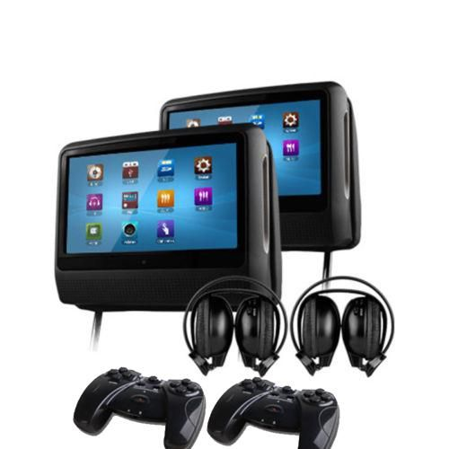 Wholesale 2x9& Touch Screen Car Headrest Monitor Car DVD Player, Free shipping, $329.85/Pair | DHgate Mobile