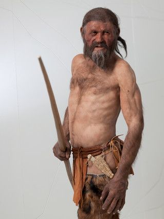 "Otzi, ""Iceman"". Excellent excuse to work on DNA.  #history #biology #workclass"