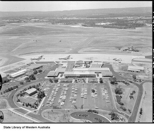 Perth Airport circa 1967