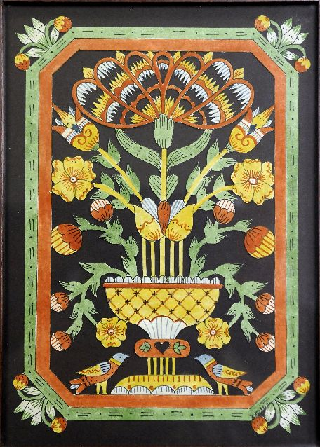 German art quilts | ... artPa. German folk arts on display at Mennonite Historical Society