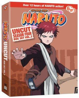 Crunchyroll - Naruto DVD Season 4 Box Set 2 Uncut