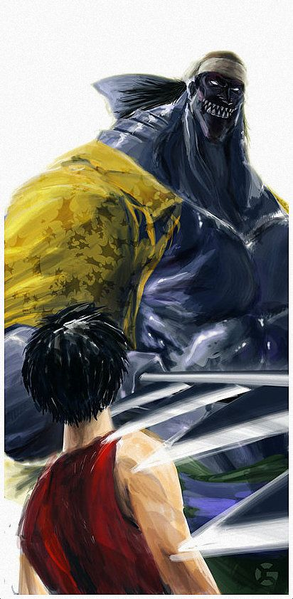 Arlong vs. Luffy