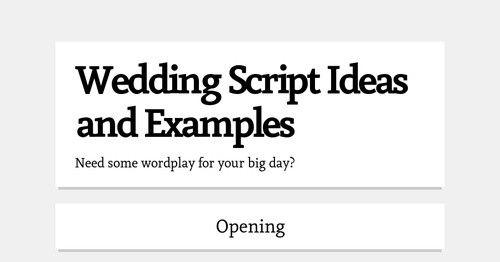 Wedding Officiant Speech Ideas: 121 Best Images About Wedding Ideas On Pinterest