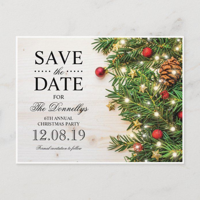 Holiday Christmas Party Save The Date Announcement Postcard Tap Click To Get Yours Right Now In 2020 Christmas Party Christmas Save The Date Holiday Christmas Party