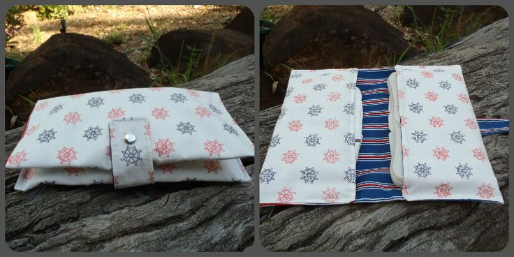 Two pocket nappy & wipes wallet. $20 <3