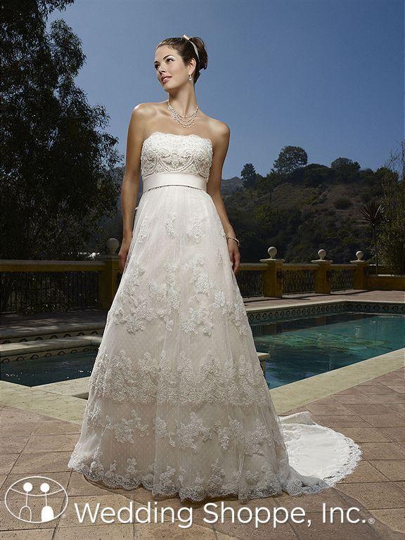 Casablanca  Bridal Gown 1900