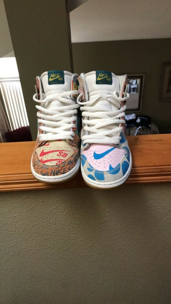newest 145d6 73ab3 Nike SB Zoom Dunk High Premium Thomas Campbell What The Dunk 918321-381 Size  9  fashion  clothing  shoes  accessories  mensshoes  athleticshoes (ebay  link)