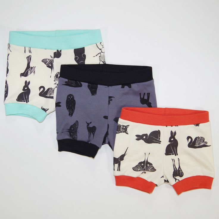 Grid Collective Organic Baby Shorties – eleventy-five