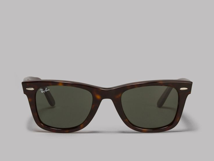 Ray-Ban Original Wayfarer Classic Sunglasses (Tortoise / Green Classic G-15)