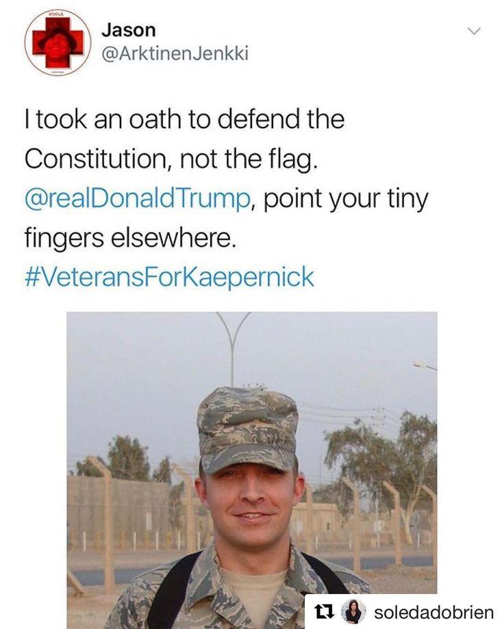 "3,524 Likes, 48 Comments - @realdlhughley on Instagram: ""#Facts!! #TeamDL #Repost @soledadobrien (@get_repost) #colinkaepernick #veteransforkaepernick"""