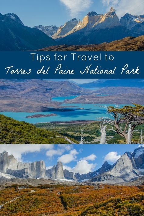 Tips for Travel to Torres del Paine National Park, in the Patagonia region of Chile. Tips for planning a hiking or trekking trip, maps, where to stay in the park, Puerto Natales, and more. One of the most beautiful places I've ever been--consider adding Torres del Paine to your South America travel bucket list!