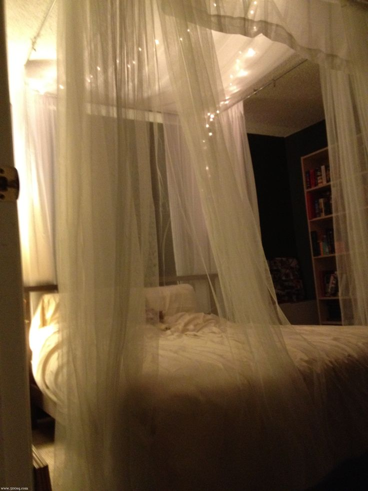 Canopy Bed Curtain best 25+ faux canopy bed ideas only on pinterest | canopy bedroom