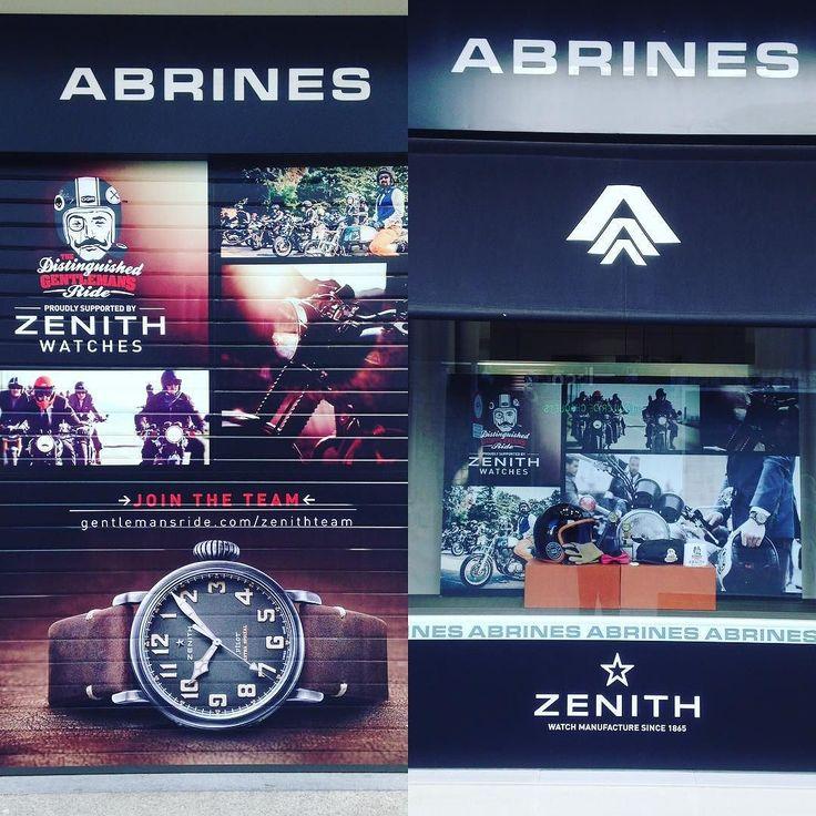 Decoración de cierres y escaparates de tienda. Diseño producción y montaje en la joyería ABRINES para la famosa marca de relojes Zenith. @zenithwatches  #pvc #tiendas #abrinesjoyero #sevilla #in #proyectos #forex #impresiondirectaenpvc #visualmerchandiser
