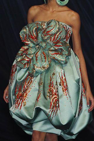 Christian Dior Spring 2008 Couture Fashion Show Details