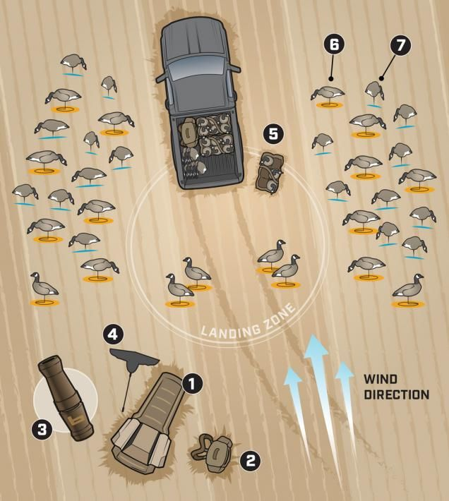 Deadly 1-Truck Decoy Spread for Late-Season Geese - You don't need a trailer full of decoys to kill wintertime honkers. This spread will fit in the bed of a pickup truck with a little room to spare. | Realtree  http://www.realtree.com/waterfowl-hunting/articles/deadly-1-truck-decoy-spread-for-late-season-geese