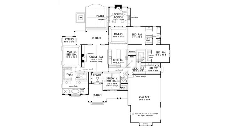 57 Best House Plans Images On Pinterest Floor Plans