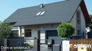 Film z realizacji - Dom w wisteriach ver. 2.  Dom jednorodzinny parterowy, z poddaszem użytkowym.  Zobacz więcej: http://archon.pl/gotowe-projekty-domow/dom-w-wisteriach-ver-2/mba01f6e6788c7