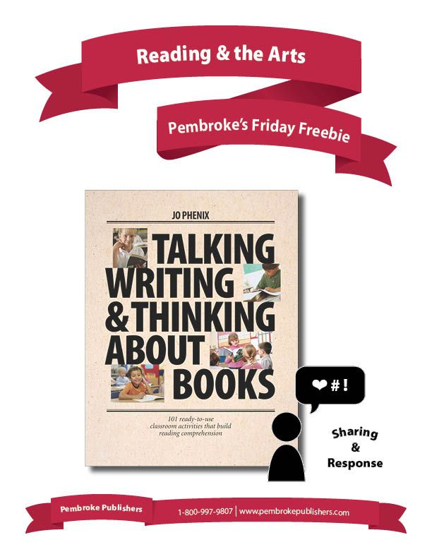 """Bring student's love of drawing and art into their reading, and watch their response come alive! These activities, from Jo Phenix's """"Talking, Writing & Thinking About Books"""", will engage and inspire students to read closer, delve deeper, and respond in all new ways."""