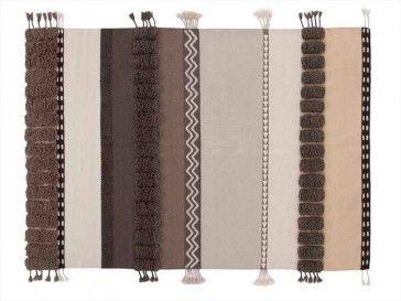 Alfombra Alexandra Neutra de Gan Rugs, diseño por Sandra Figuerola - Tendenza Store