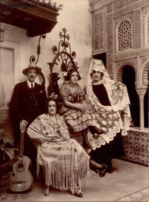 Granada - Group In Traditional Andalusian Dress