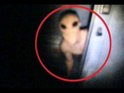 Real Alien Filmed Inside Area 51 - YouTube