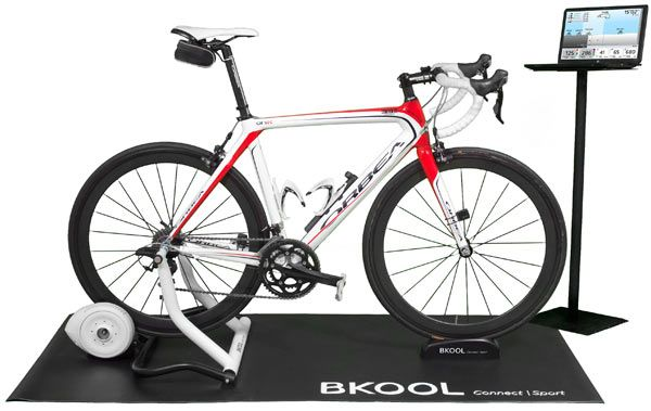 BKOOL BCYCLING TRAINER ADDS AUTO RESISTANCE W/ VIDEO, ONLINE TRAINING & COMPETITIONS