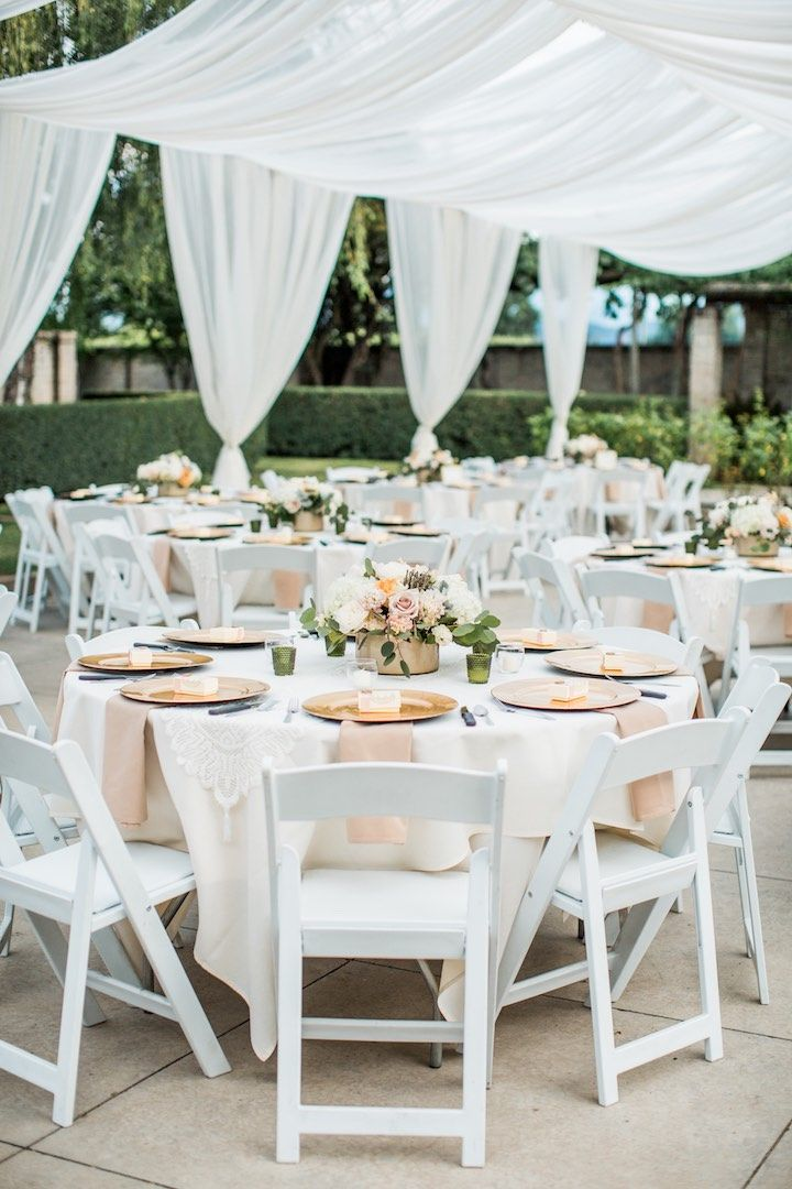 featured photographer lahna marie photography wedding reception idea click to see more details - Stone Slab Canopy Decorating